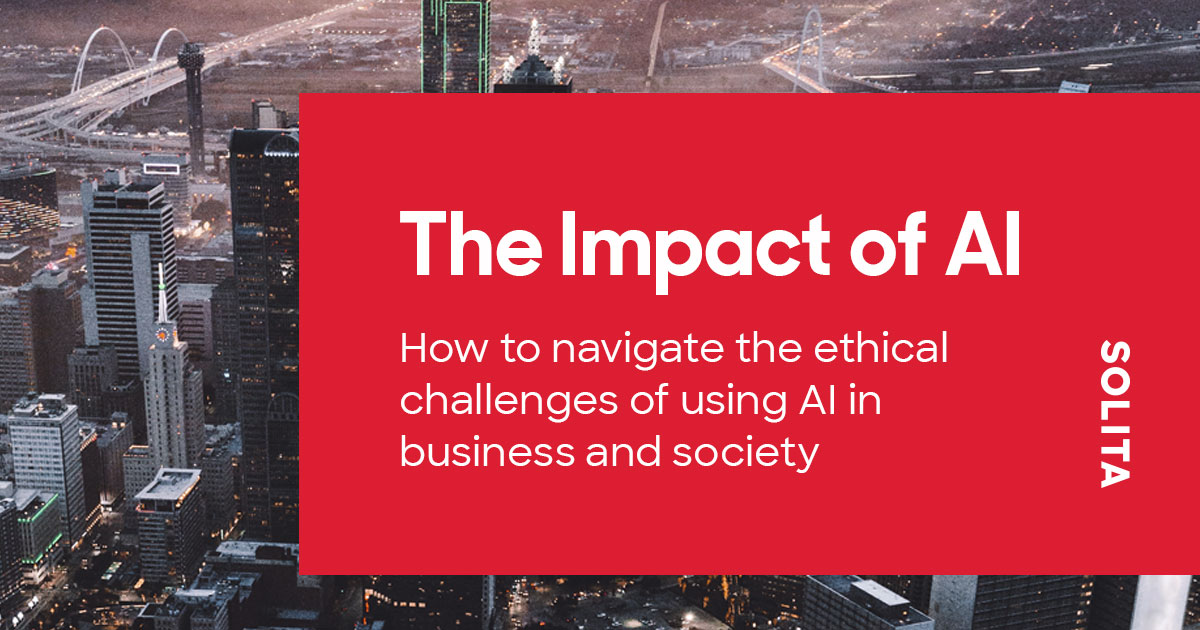 Read Solita AI Ethcis report: The Impact of AI