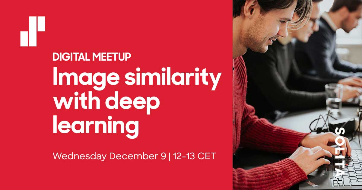Meetup: Image similarity with deep learning