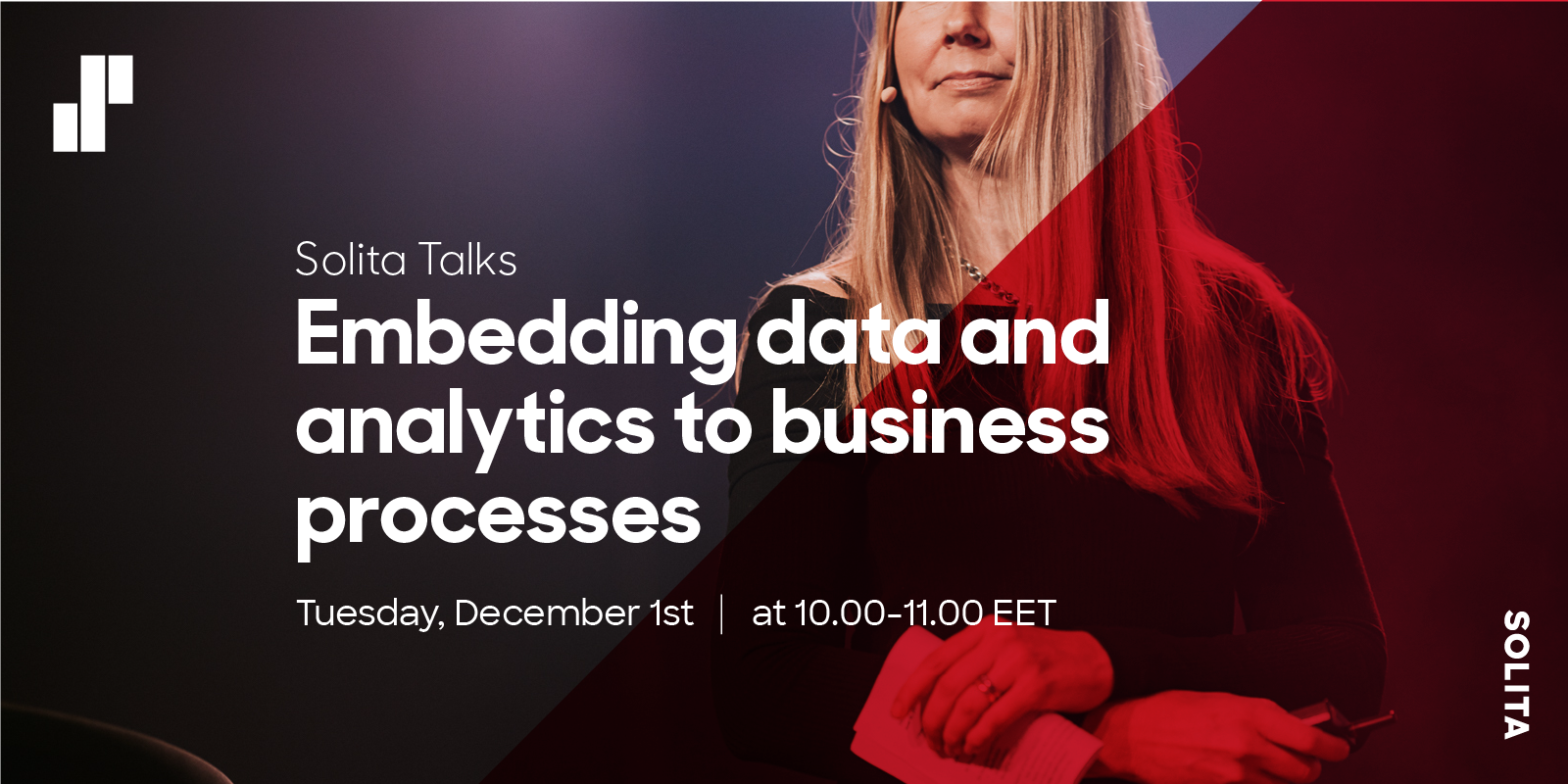 Solita Talks Embedding data and analytics to business processes